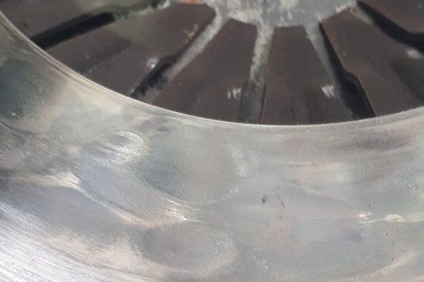 Pressure plate hot spot