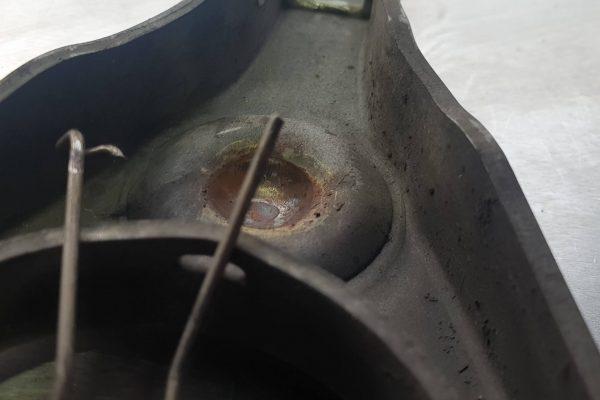 Old fork broken spring